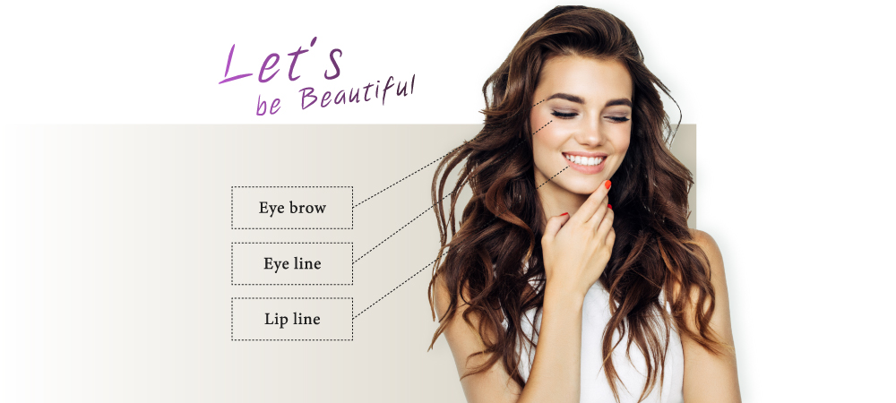 Let,s be Beautiful Eye brow Eye line Lip line
